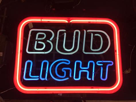 bud light neon sign bud light neon sign