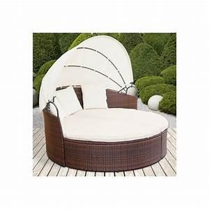 Salon De Jardin Rond : canape jardin rond mc immo ~ Dailycaller-alerts.com Idées de Décoration