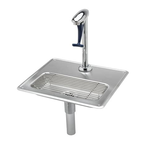 restaurant kitchen faucets t s b 1230 water station 10 5 in push back glass filler