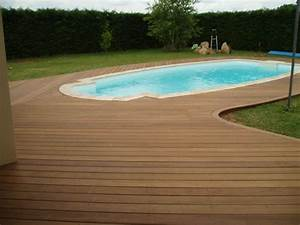 nivremcom terrasse bois bord piscine diverses idees With photo de piscine en bois