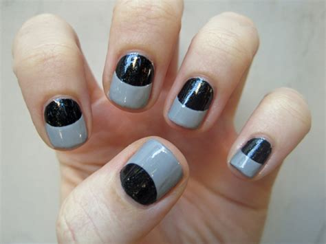 Easy Nail Art For Chipped Tips