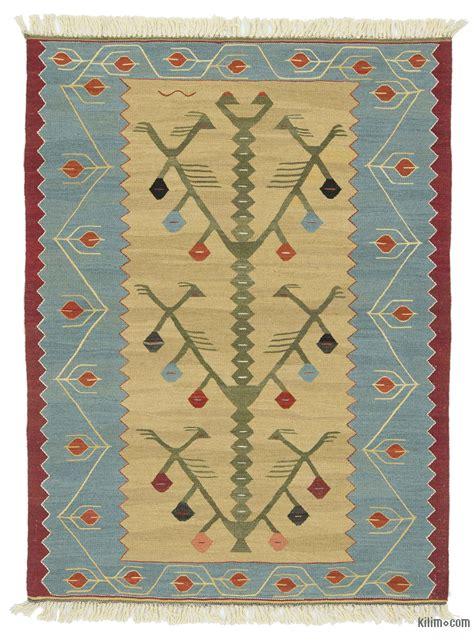 turkish kilim rugs k0020787 light blue beige new turkish kilim rug