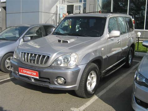 Used 2001 Hyundai Terracan Photos 2500cc Diesel
