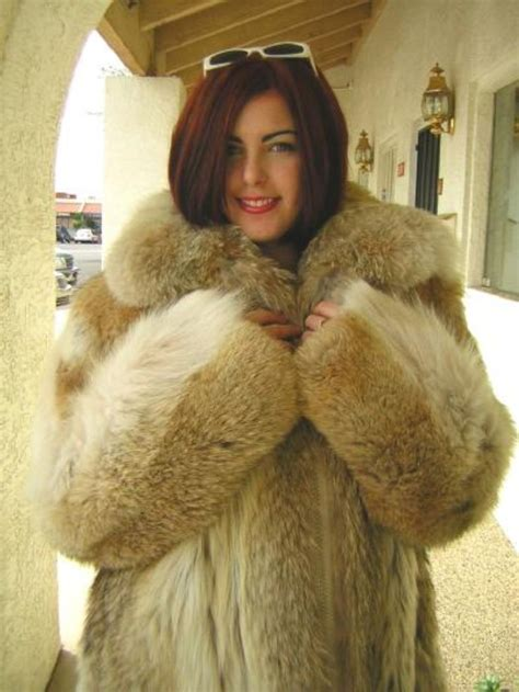 Woman In Fur Coat Fetish Domination Naked Photo