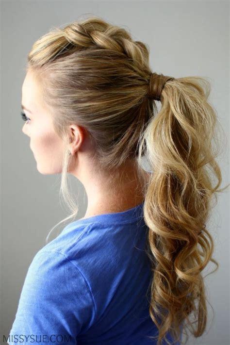 dutch braid mohawk ponytail  adorable ways  wear
