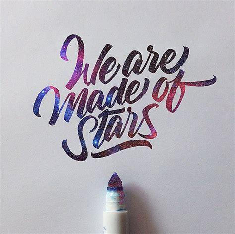 inspiring brushpen crayola lettering examples