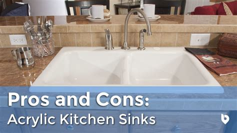 Kitchen Sink Types Pros And Cons by Kitchen Sink Spotlight Acrylic Sink Pros And Cons