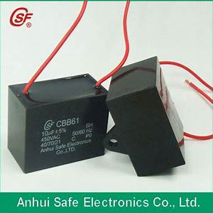 China Cbb61 15uf 450 Condensateur Fan Capacitor Cbb61 5