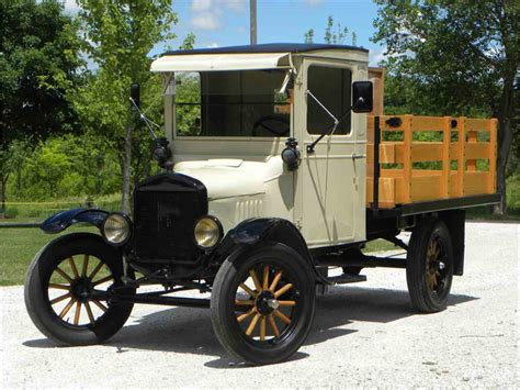1925 Ford Model Tt Stake Truck For Sale