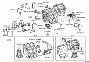 2008 Toyota Tundra Hvac Unit Case Assembly  4 6 Liter  4 7