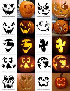 290, Free, Printable, Halloween, Pumpkin, Carving, Stencils, Patterns, Designs, Faces, U0026, Ideas