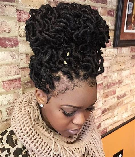 Simple hairstyle for Updo Braid Hairstyles For Black Hair
