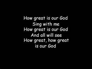 How Great Is Our God (with lyrics) - YouTube