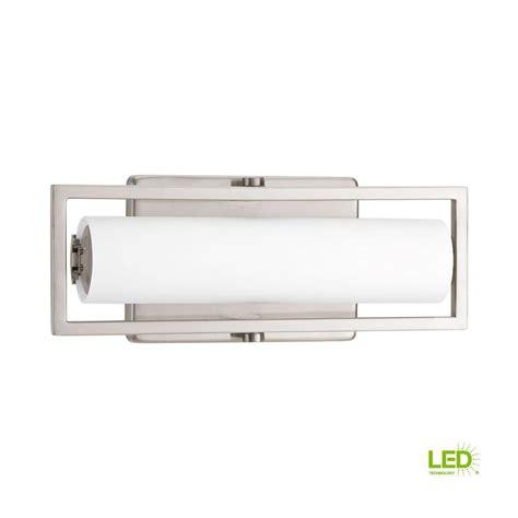 led bathroom vanity light home decorators collection 40 watt equivalent 4 light