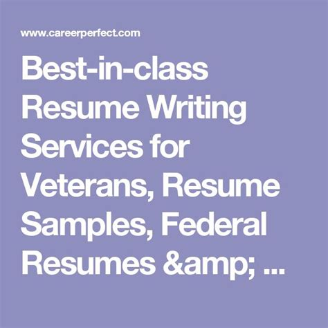 Resume Writing Services For Veterans by Best 20 Resume Writing Services Ideas On Cv