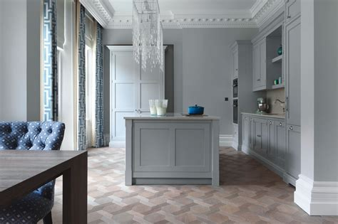 kitchen parquet flooring ash grey herringbone element7 2420