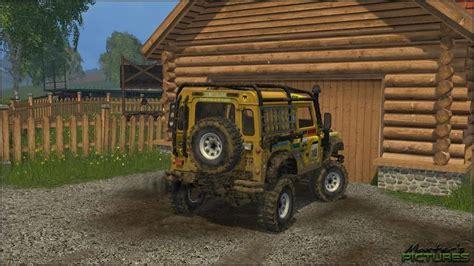 jeep defender 2015 landrover defender dakar jeep v1 0 0 farming simulator