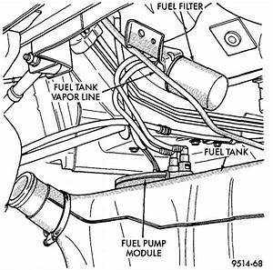 Steps And Degree Of Difficulty To Change Fuel Filter On 97