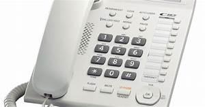 Telepon Panasonic Kx