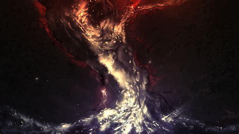 Wallpaper Vortex Anime - hd wallpaper vortex galaxy dust cluster of