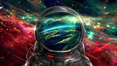 4k Astronaut Background Colourful Wallpapers