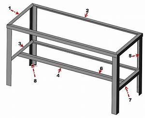 How to Build Metal Workshop Bench Plans Plans Woodworking