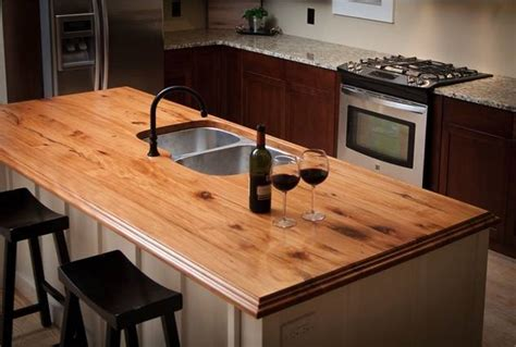 wood look countertops kitchen countertop ideas choosing the material