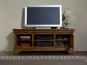 Meuble TV 169me En Merisier Massif De Style Louis