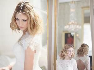 Coiffure Mariage Facile Cheveux Mi Long : coiffure mariage facile selon la longueur des cheveux pour tre sublime ~ Nature-et-papiers.com Idées de Décoration