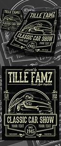 Classic Car Show Flyer | Logos, Cars and Fonts
