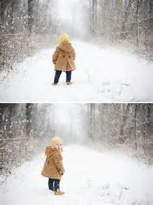 Kids Outdoor Winter Photography