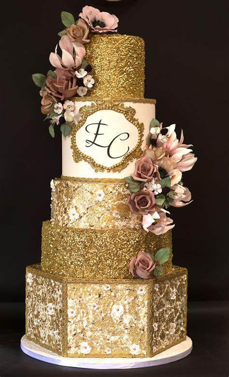 royal gold wedding cake cakecentralcom