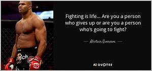 Alistair Overee... Fight Boxing Quotes