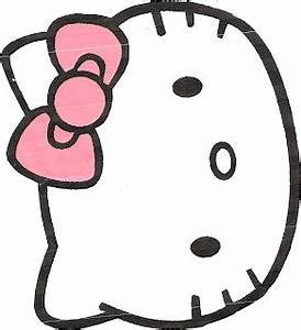 my creative place hello kitty gift bag With hello kitty cut out template