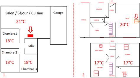 la cuisine dans le bain diffusion de la chaleur avec un poêle à granulés