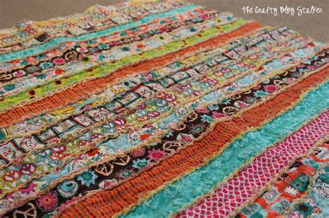 how to quilt guest post shows how she made rag quilt