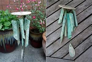 Fabriquer Un Carillon : poterie de jardin 20 id es essayer pour personnaliser l 39 espace ext rieur ~ Melissatoandfro.com Idées de Décoration