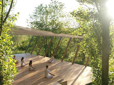 inspiration gallery outdoor yoga platform yogi