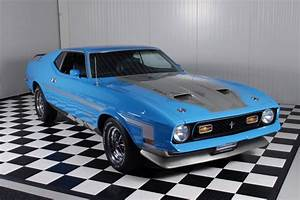 1971 71 Mustang mach 1 429 SCJ dragpack, super rare car ! For Sale | Car And Classic