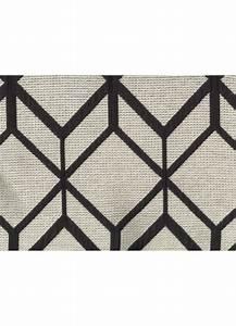 Rideau Noir Et Gris : rideau motifs g om triques avec oeillets gris et noir gris et bleu gris et marron ~ Melissatoandfro.com Idées de Décoration