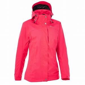 Bottes De Pluie Femme Decathlon : veste pluie imperm able randonn e femme arpenaz 300 rose ~ Melissatoandfro.com Idées de Décoration