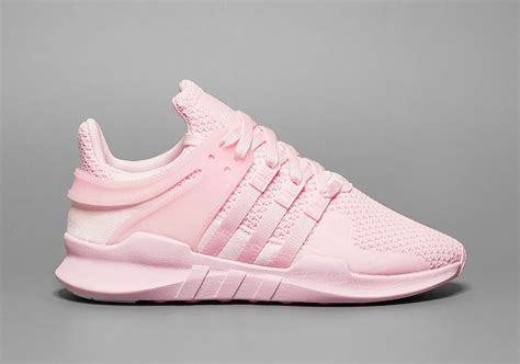 all light pink adidas triple pink lands on the adidas eqt support adv