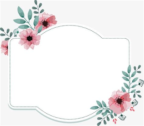 pink flower decorative box vector png polygon pink