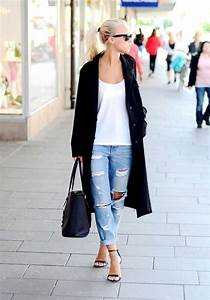How to Wear Boyfriend Jeans Outfit Ideas - Melonkiss