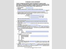 Free Michigan Residential Lease Agreement PDF Word doc