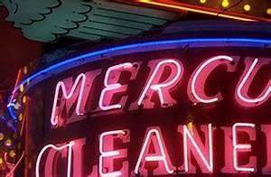 Mercury Cleaners Neon Sign – Sacramento Modern