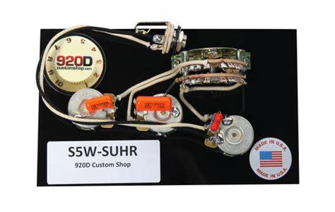 Custom Shop Suhr Hss Wiring Harness Way Super