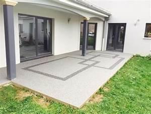Resine Pour Terrasse Beton Exterieur : resine pour sol exterieur terrasse pack granulat resine ~ Edinachiropracticcenter.com Idées de Décoration