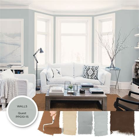 Blue Gray Paint In Living Room by Quest Ppg10 15 Color Schemes Paint Living Room