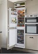 Integrated Kitchen Appliances Lamona Integrated 50 50 Fridge Freezer Tower Refrigeration Kitchen
